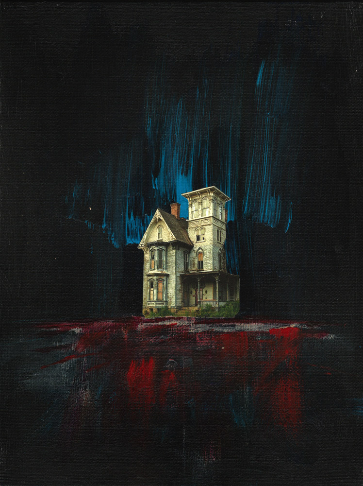 Safehouse - mixed media art