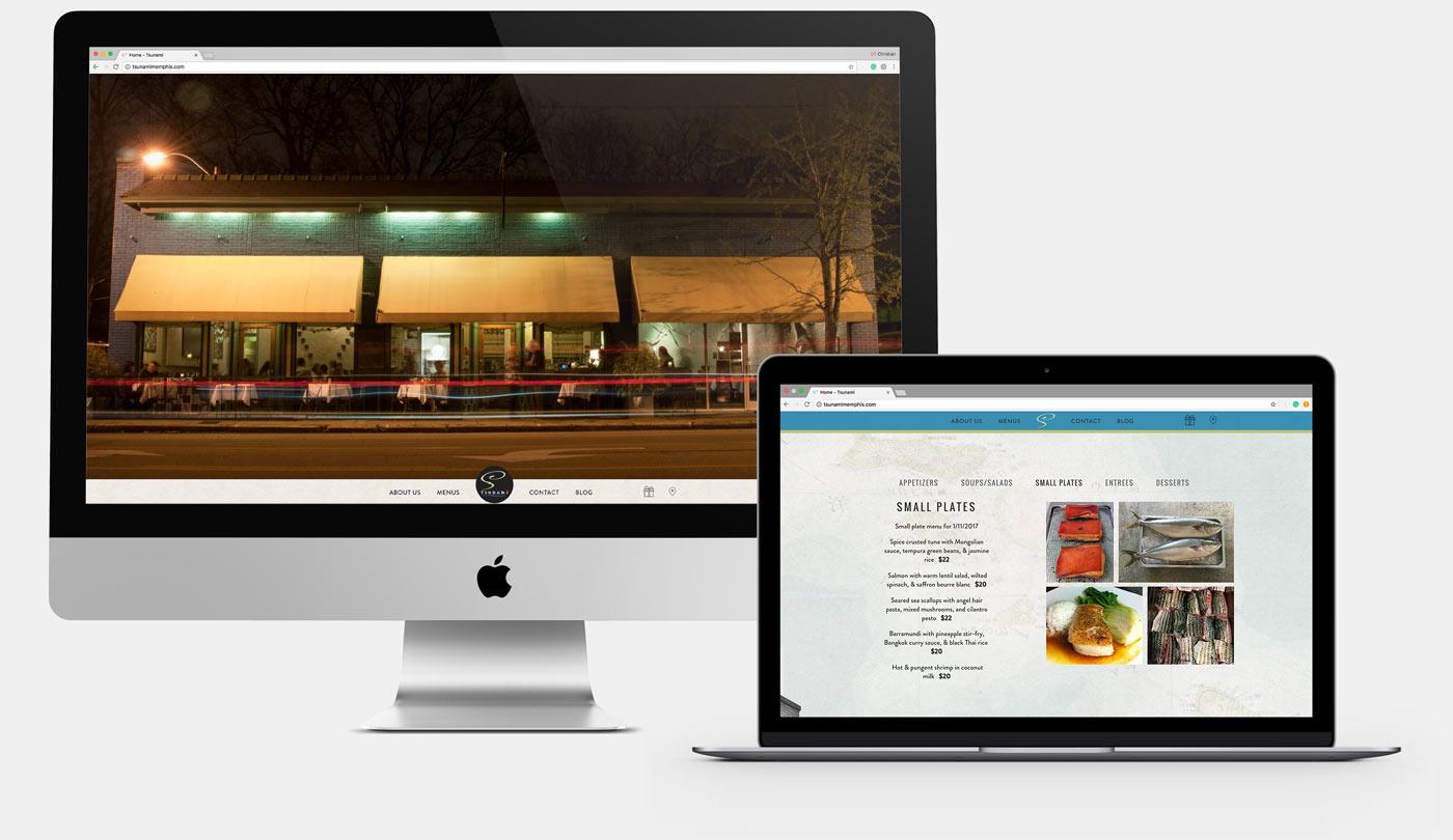 Tsunami Website Device Mockup